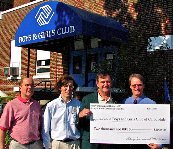 Rotary Club of Carbondale Breakfast Service Activi