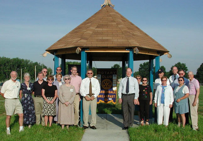 Rotary Club of Carbondale Breakfast Service Activities